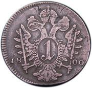 1 kreuzer François II -  revers