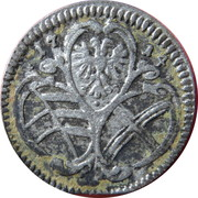 ½ kreuzer Charles VI (Vienne) – avers