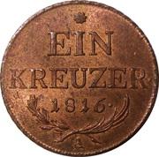 1 kreuzer Francois II -  revers