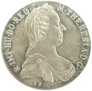 1 thaler Marie Thérèse -  avers