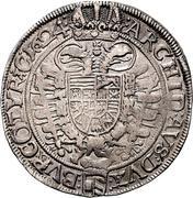 1 thaler Ferdinand II (Vienne) -  revers