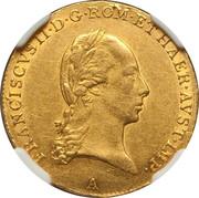 1 ducat  Francois II -  avers