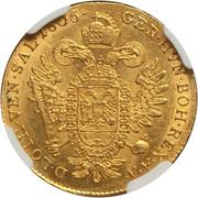 1 ducat  Francois II -  revers
