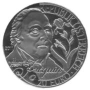 20 euros Nikolaus Joseph von Jacquin -  avers