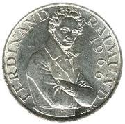 25 schilling Ferdinand Raimund -  revers