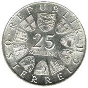 25 schilling Ferdinand Raimund -  avers