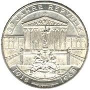 50 schilling Anniversaire de la République -  avers