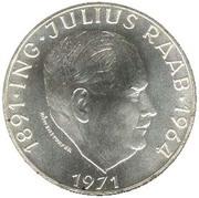 50 schilling Julius Raab -  avers