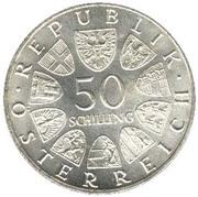 50 schilling Julius Raab -  revers