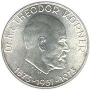 50 schilling Dr. Theodor Korner -  revers
