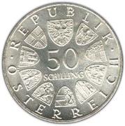 50 schilling Dr. Theodor Korner -  avers