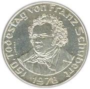 50 schilling Franz Schubert -  avers