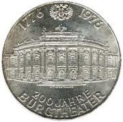 100 schilling Burgtheater -  avers