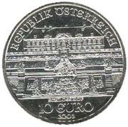 10 euros Château de Hof -  revers