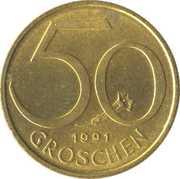 50 groschen – revers