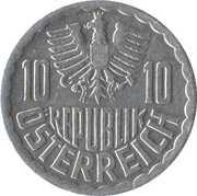 10 groschen -  avers