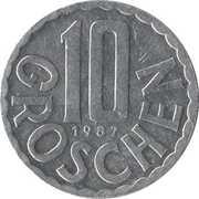 10 groschen -  revers