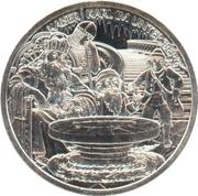 10 euros Charlemagne et l'Untersberg -  avers
