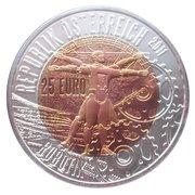 25 euros Robotique -  avers