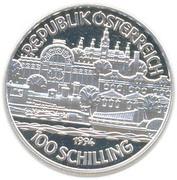 100 schilling Kaiser Franz Joseph I. -  avers