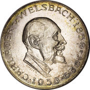 25 schilling Auer von Welsbach -  revers