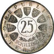 25 schilling Auer von Welsbach -  avers