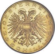 25 schilling (St Leopold) – avers