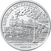 """20 euros La """"Belle époque"""" -  avers"""