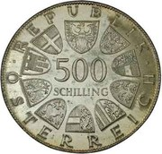 500 Schilling (Marie Theresa) -  avers