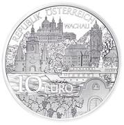 10 euros Basse-Autriche (argent) -  avers
