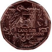 5 euros Pays de l'eau (cuivre) -  avers
