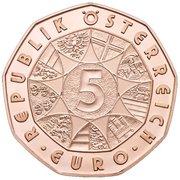 5 euros Nouvelle année 2014 (cuivre) -  revers