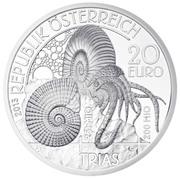20 euros Le trias -  avers