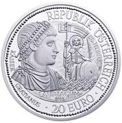 20 euros Lauriacum -  avers