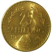25 schilling – revers