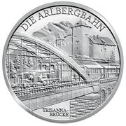 20 euros Électrification du rail -  revers