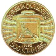 500 Schilling (Opéra) -  avers