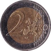 2 euros Traité d'état autrichien – revers