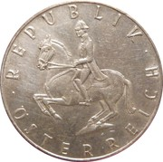 5 schilling (argent) -  avers