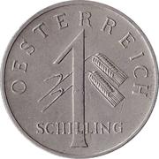 1 schilling – avers