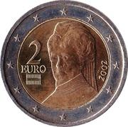 2 euros (1ère carte) -  avers