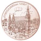 10 euros Vienne (cuivre) – revers