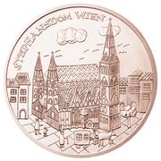10 euros Vienne (cuivre) -  revers