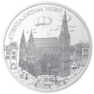 10 euros Vienne (argent) – revers