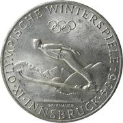 50 schilling Innsbruck – revers
