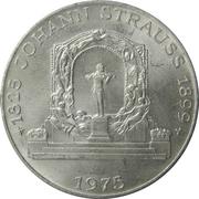 100 schilling Johann Strauss -  revers