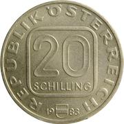20 schilling Château de Hochosterwitz – avers