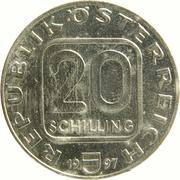 20 schilling Cathédrale de St. Stephan -  avers