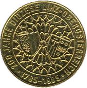 20 schilling Diocèse de Linz -  revers