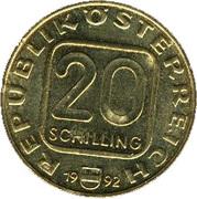 20 schilling Diocèse de Linz -  avers